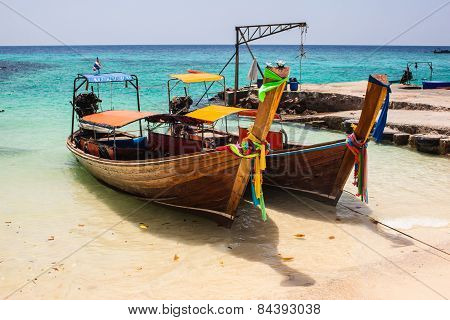 Tropical Thai Boats