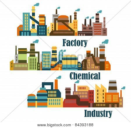 Chemical and industrial factories