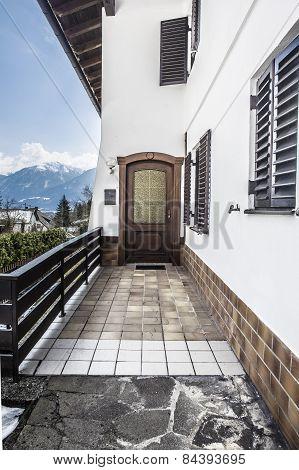 Austrian House Entrance