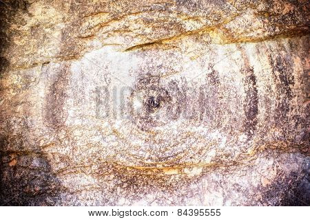 Pattern Of Rock Stone For Background