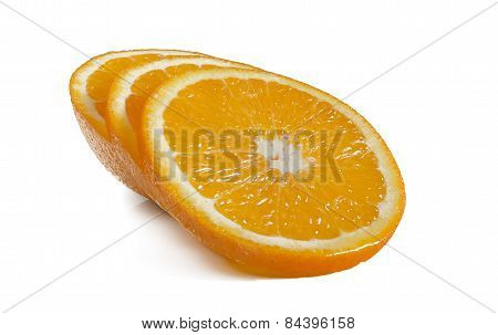 The Cut Citrus Fruit.