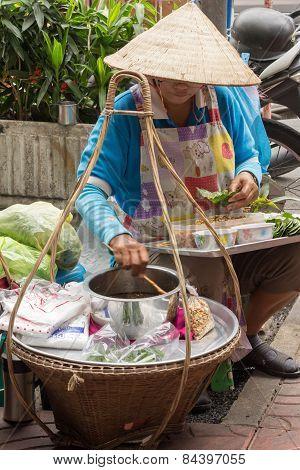 Betel Wrap Vendor