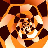picture of hypnotic  - Artistic spiral - JPG