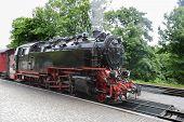 image of locomotive  - Old locomotive - JPG