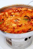 pic of thai cuisine  - Tom Yum Goong  - JPG