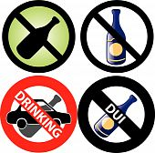 No Drinking Sign 3