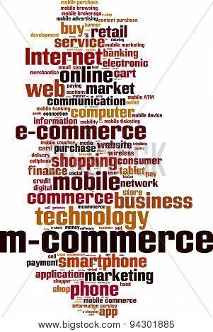 M-commerce Word Cloud