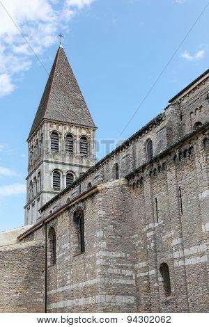 Abbey of Saint Philibert in Tournus, France