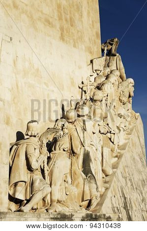 Padrao dos Descobrimentos (Monument of the Discoveries) in Lisbon, Portugal