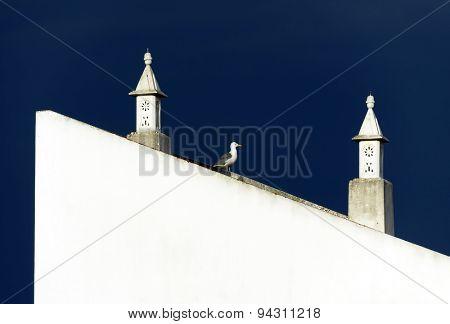 Architectural detailin Lagos, Portugal, Europe