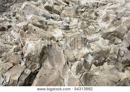Unusual Rocks In Jeju Island