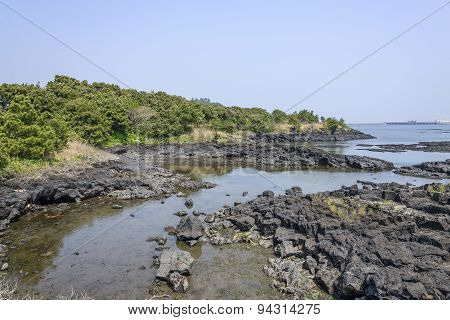 Landscape Of Jeju Olle Cours No. 2