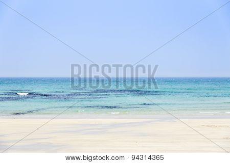 Woljeongri Beach In Jeju Island