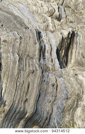 Detail Of Rock In Sanbangsan Mountain