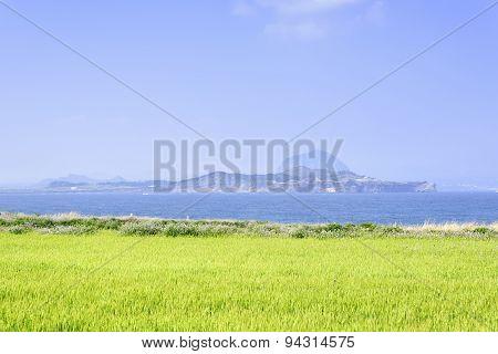 Landscape Of Sanbangsan And Songaksa
