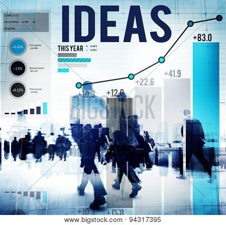 Ideas Innovation Creativity Inspiration Information Concept