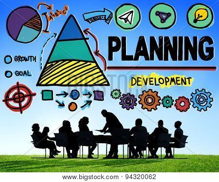 Planning Plan Strategy Growth Development Concept