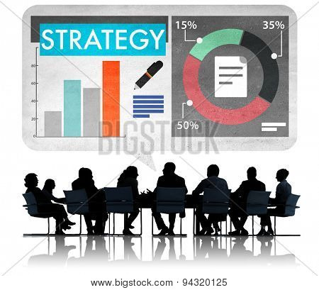 Strategy Business Analysis Planning Achievement Concept