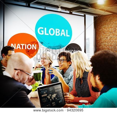 Global Nation World International Variation Unity Concept