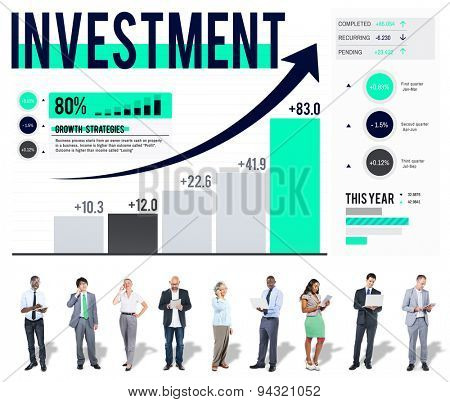 Investment Business Risk Planning Success Concept