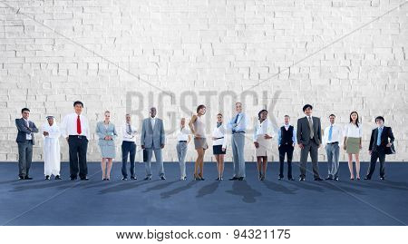 Business People Aspiration Team Corporate Concept