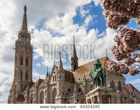 Matthias Church is a Roman Catholic church in the Romanesque style, located in Budapest, Hungary