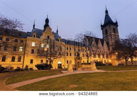 New Town Hall And Prague Municipal Court