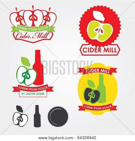 Cider Mill, emblems