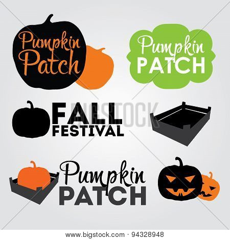 Pumpkin Patch design elements.