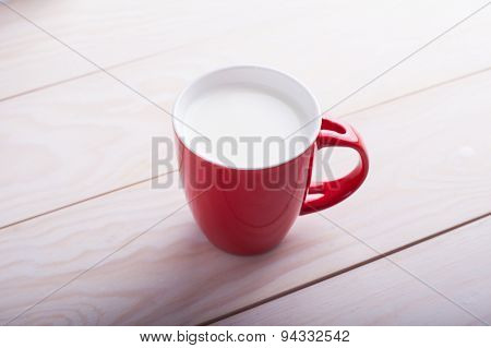 Red Cup Of Milk