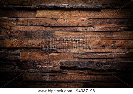 Design Of Dark Wood Background