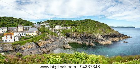 Portloe On The Cornwall Coast