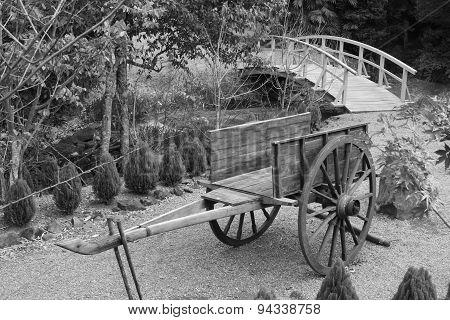 Chinese Garden Cart