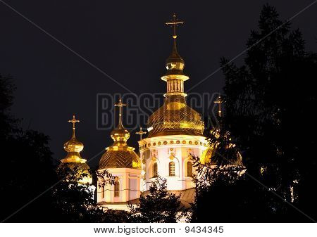 Snt. Mikhail church in Kiev