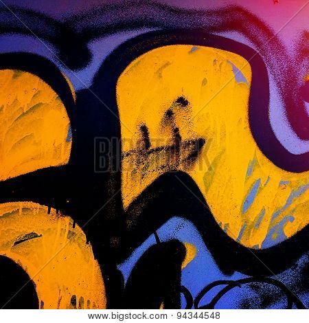 Graffiti In The Urban