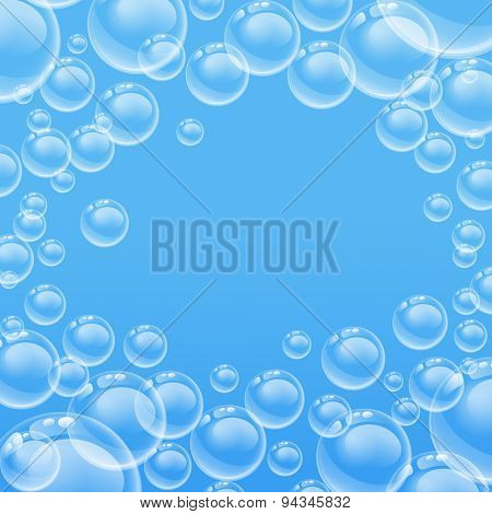 transparent bubbles 10eps