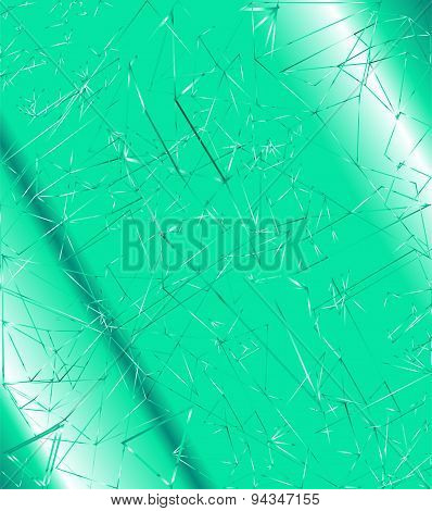 Abstract polygonal blue background for Your design