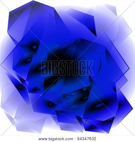 PriBlue abstract geometrical background