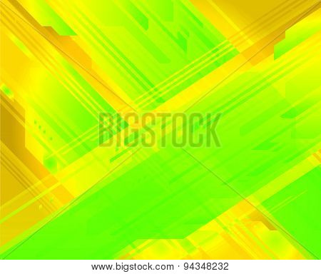 High Tech Grid Lines green yellow texture Background