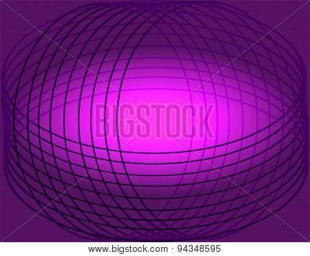 Purple curve line background