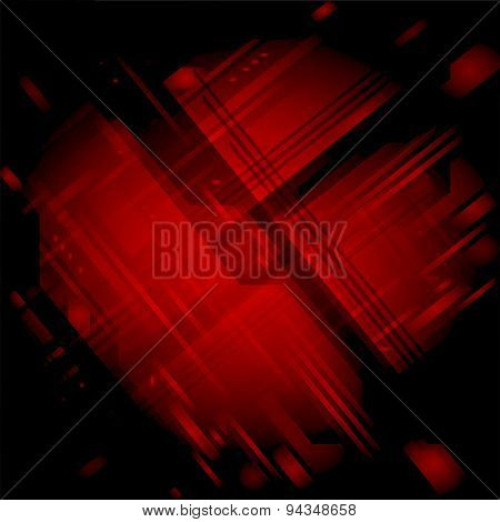 Red black texture background