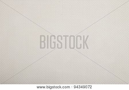 Background Texture Of White Wicker Braided Plastic Double Strings With Small Mesh
