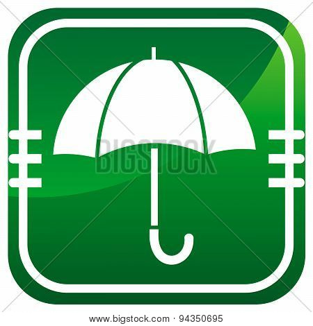 Umbrella - Vector Icon Isolated