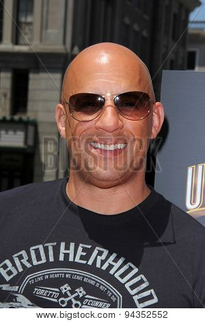 LOS ANGELES - JUN 23:  Vin Diesel at the