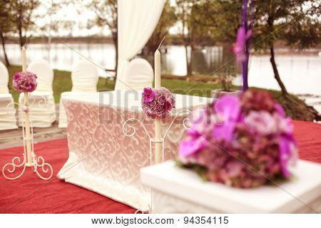 Floral Decor For Wedding Ceremony