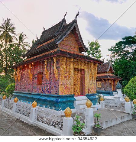 Beautiful Ancient Temple (wat Xieng Thong) Luang Prabang City ,l