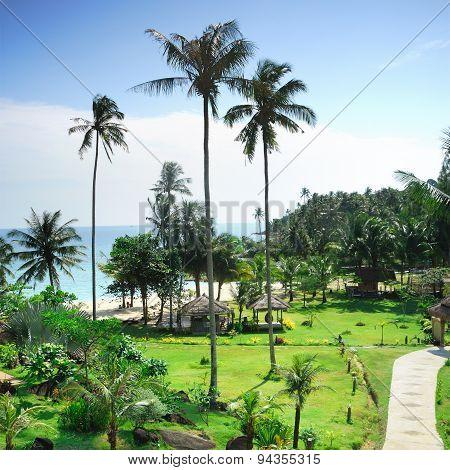 Beautiful Peaceful Place In Kho Kood Island ,trat Province ,thai