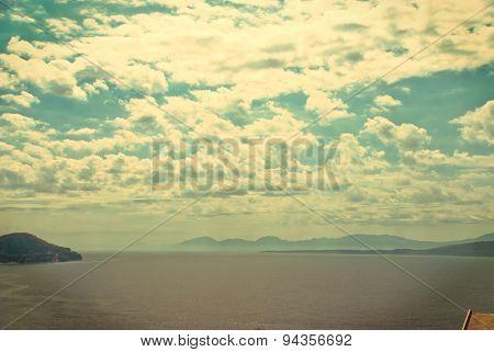 Dramatic Sky Above Adriatic Sea