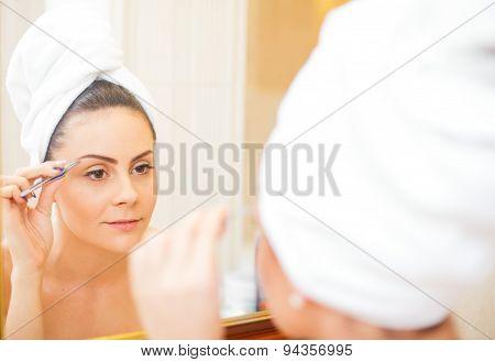 Picking Eyebrows