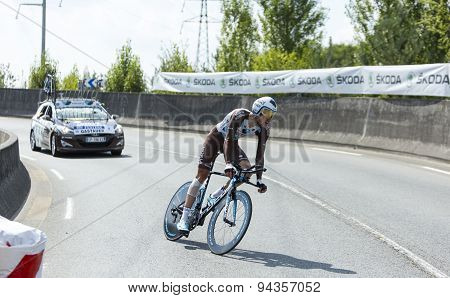 The Cyclist Ben Gastauer - Tour De France 2015